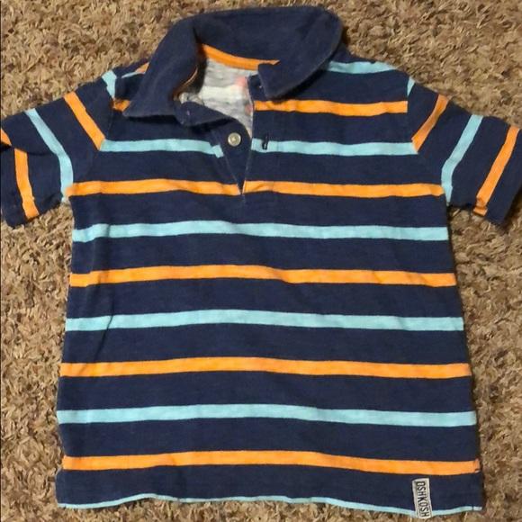 Oshkosh B/'gosh Boy/'s Short Sleeve Pullover Polo Shirt ~ Size 6M ~ NWT MSRP $20